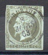 FRANCE - YT N° 11a - Cote: 100,00 € - 1853-1860 Napoléon III.