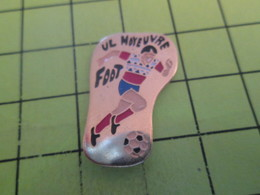 411e Pin's Pins / Rare Et  Belle Qualité !!! THEME : SPORTS / FOOTBALL CLUB MOYEUVRE - Football