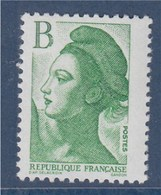 = Liberté De Gandon, D'près Delacroix, B, TVP Lettre Verte, Valeur émission 2f00 N°2483 Neuf - 1982-90 Liberté De Gandon