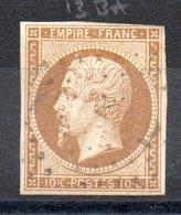 FRANCE - YT N° 13Ba - Cote: 50,00 € - 1853-1860 Napoléon III