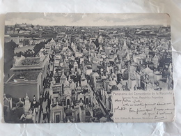 BUENOS AIRES,  Argentina Argentine, Panorama Del Cementerio De La Recoleta,1906 > Mairie De Campan , Hautes Pyrénées Btb - Argentinië