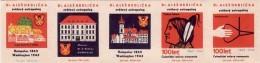 Boites D'allumettes-etiquettes,match Labels,etiketten,Czechoslovakia 1969,anthropologist Aleš Hrdlička,Jan Hus-Prac - Boites D'allumettes - Etiquettes