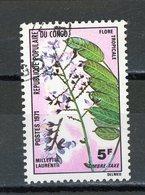 CONGO : - FLORE - N° Yvert TAXE 48 Obli. - Oblitérés