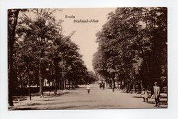 - CPA Brăila (Roumanie) - Denkmal-Allee - N° 394 - - Roumanie