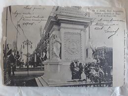 BUENOS AIRES,  Argentina Argentine,Estatua Y Avenida De Mayo El 25 De Mayo 1903 > Campan , Hautes Pyrénées Btb - Argentinië