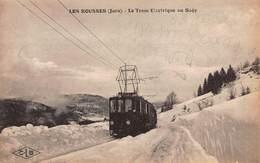 CPA LES ROUSSES ( Jura ) - Le Tram Electrique Au Sagy - Francia
