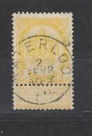 COB 54 Oblitération Centrale WATERLOO - 1893-1907 Armarios