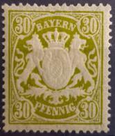 BAVARIA 1900 - MLH - Mi 66 - 30pf - Bavaria