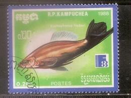 KAMPUCHEA OBLITERE - Kampuchea