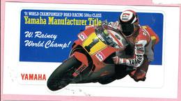 Sticker - 1991 World Championship Road Racing 500cc Class - Marlboro - W.Rainey World Champ! - Stickers