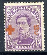 BE   154    X   ---   Bel état - 1918 Rotes Kreuz