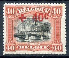 BE   158    X   ---   Infime Trace De Charnière  --  Parfait état - 1918 Rotes Kreuz