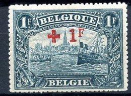 BE   160    X   ---   Très Baible Trace De Charnière  --  Signé - 1918 Rotes Kreuz