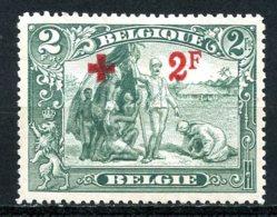 BE   161    X   ---   Très Bon Centrage  --  Sans Gomme - 1918 Red Cross