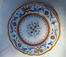 Deruta Plate - Bord - Assiette  - As 2190 - Deruta (ITA)