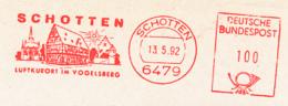Freistempel 6677 Schotten Fachwerkhaus Sonne - Marcophilie - EMA (Empreintes Machines)