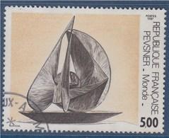 = Oeuvre D'Antoine Pevsner, Monde, Série Artistique, 5f00 N°2494 Oblitéré - France