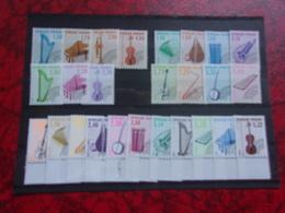 FRANCE (cote 127,00**) Instruments De Musique - France