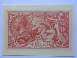 GB 1983 Postcard Seahorse With Maltese Cross Handstamp - 1952-.... (Elisabeth II.)