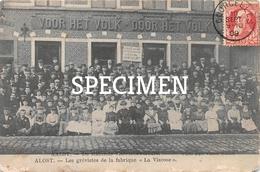 Stakende Viscosebewerkers Alost Aalst - Aalst