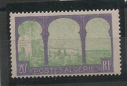 Algérie N° 85 Neuf ** MNH Variété Arbre Tronqué, - Algerien (1924-1962)