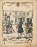 """Couverture Cahier Les Mots Historiques Louis XIV """"Jai Failli Attendre"""" Dascher Clairefontaine Etival (Vosges) - Protège-cahiers"""
