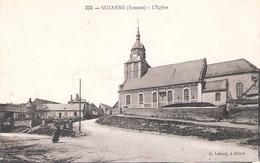Suzanne (80 - Somme) L'église - Andere Gemeenten