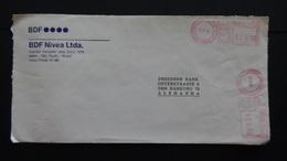 Brazil - 1992 - 5 X 926 Cruz Freistempel Sao Paulo On Envelope - Look Scan - Brazilië