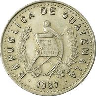 Monnaie, Guatemala, 10 Centavos, 1987, TB+, Copper-nickel, KM:277.5 - Guatemala