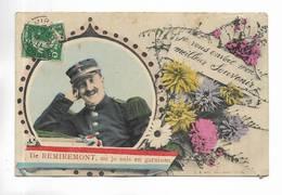 88 - De REMIREMONT, Où Je Suis En Garnison. - Remiremont