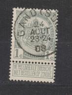 COB 81 Oblitération Centrale GAND Sud - 1893-1907 Armoiries