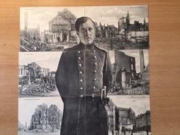 Antwerpen - Visé- Luik - Koning Albert I - 6-delig - Eerste Wereldoorlog - Verwoesting - 1914 - Belgique