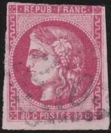 France  .   Yvert   .     49    (2 Scans)  .       O         .       Oblitéré - 1870 Emission De Bordeaux