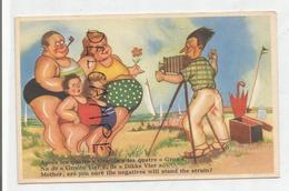 """A La Plage. Photographe Et Famille:"""" Après Les Quatre Grands, ..."""" - Humor"""