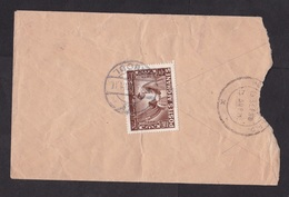 Afghanistan: Cover To Pakistan, 1958, 1 Stamps, Rare Real Use (damaged!) - Afghanistan
