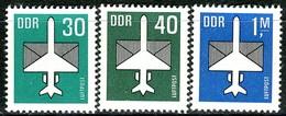 DDR - Mi 2751 / 2753 - ** Postfrisch (C) - 30-40Pf-1M      Flugpostmarken - [6] République Démocratique