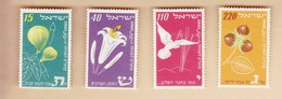 ISRAELE 1952 Nuovo Anno  4v. - Unused Stamps (without Tabs)