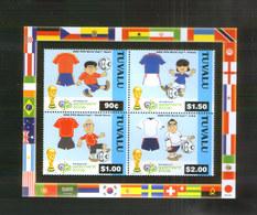 Tuvalu Block ** Fußball WM (2006) - Fußball-Weltmeisterschaft