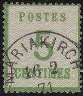 Alsace .   Yvert   .     4      .       O         .       Oblitéré - Elsass-Lothringen