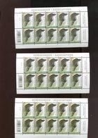 Belgie Buzin Vogels Birds 2013 4305 Associations Verenigingen EN 3 NUANCES !!! RR Plaatnummer 1 - 1985-.. Uccelli (Buzin)