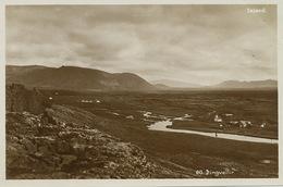 Iceland 60 Pingvellir Real Photo Edit. Helgi Arnason - Islande