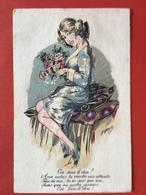 Illustrateur A. WUYTS - FANTAISIES PARISIENNES - OSE-DONC LE DIRE ! AUX AUTRES, TU VANTES MES ATTRAITS... - Wuyts
