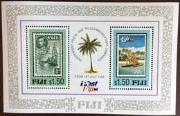 Fiji 1996 Postal Service Minisheet MNH - Fiji (1970-...)