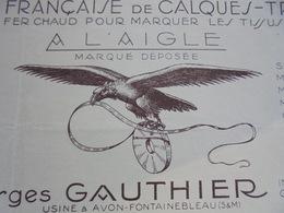 L'AIGLE - AVON, SEINE Et MARNE, 1936 - GEORGES GAUTHIER, 66 RUE DES CHATAIGNIERS - ILLUSTREE - Frankrijk