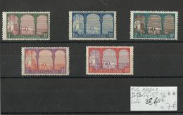 Algérie N° 51-53-54-55-56-neufs ** MNH Cote 38€ 40 - Algérie (1924-1962)