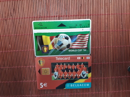 2 Phonecards Football Used  Rare - Sport