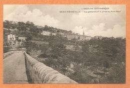SAINT PIERREVILLE -- Vue Générale N° 2, Prise Du Pont Neuf -- Voyagée 1905 - Francia