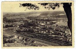 FLEMALLE-HAUTE - Panorama - Vue Prise Des Rochers - La Gare - Flémalle