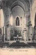 CPA MONTOLIVET - 1765 - Intérieur De L'Eglise - Saint Barnabé, Saint Julien, Montolivet