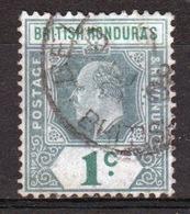 British Honduras 1904 Single 1c Stamp From The Edward VII Definitive Set. - British Honduras (...-1970)